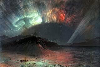 Art Oyster Frederic Edwin Church Aurora Borealis - 18