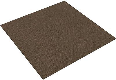 タイルカーペット nittan(ニッタン) ホームタイル 吸着・多機能 16枚セット 50×50cm ブラウン HT10416