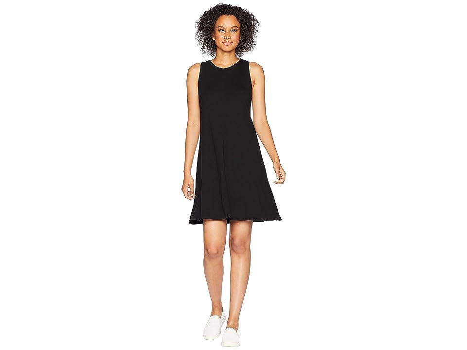 Three Dots Heritage Knit Dress (Black) Women