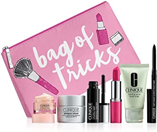 New 2016 Clinique 7 pc Makeup Skincare Gift Set -- (a $70 value) -- color of PINK