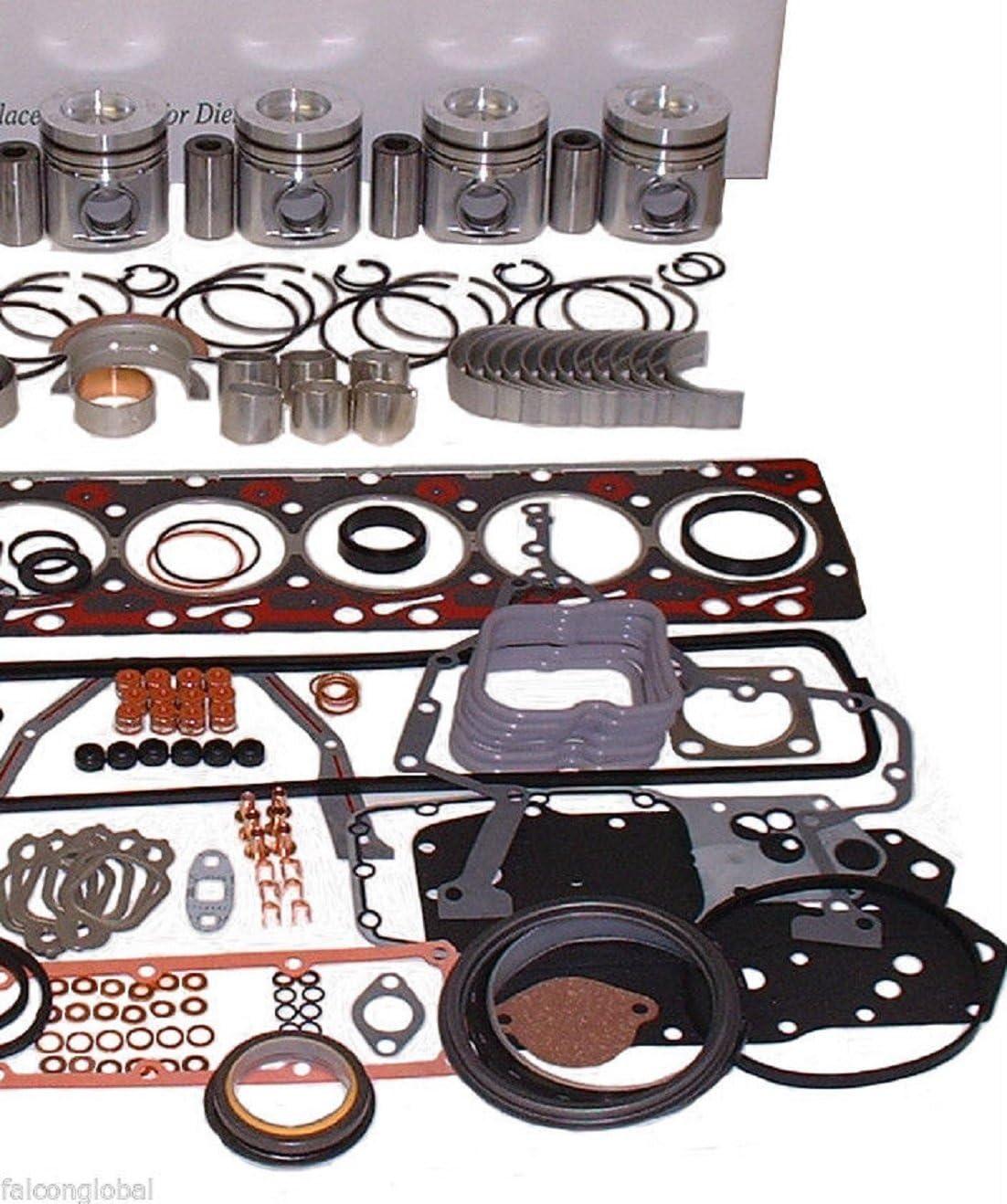 Isuzu Hyster Komatsu engine kit rin forklift Directly managed store Mail order pistons diesel C240