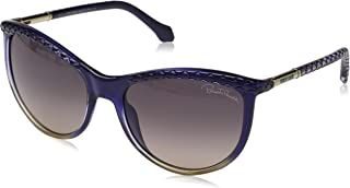 Roberto Cavalli Round Sunglasses for Women, Brown, RC873S-92B-58-18-130