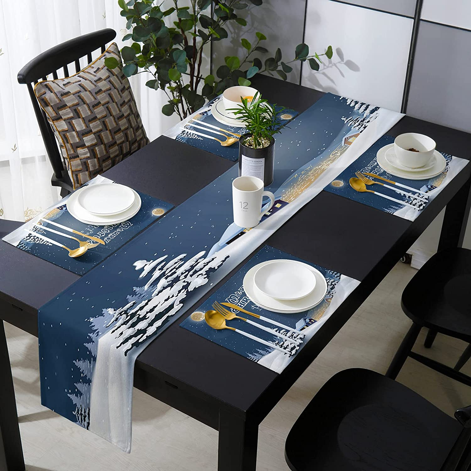 Fantasy Staring 13 Award-winning store x 90 Inch with Placemats Table of Soldering Runner Set