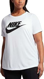f6b8f056df Nike W NSW Essntl tee Hbr Ext - Camiseta de Manga Corta Mujer. MARCA  RECOMENDADA