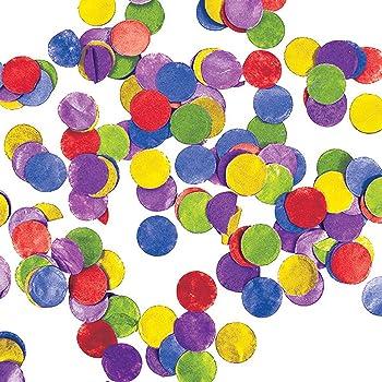 Creative Converting 329645 12-Count Tissue Paper Confetti Multicolor Dots