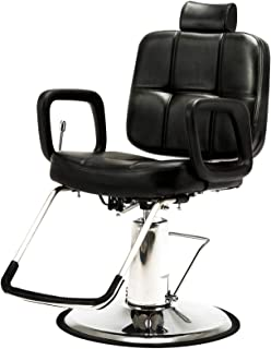 Sponsored Ad - Artist Hand Hydraulic Recline Barber Chair Salon Chair for Hair Stylist Heavy Duty Tattoo Chair Shampoo Bea...
