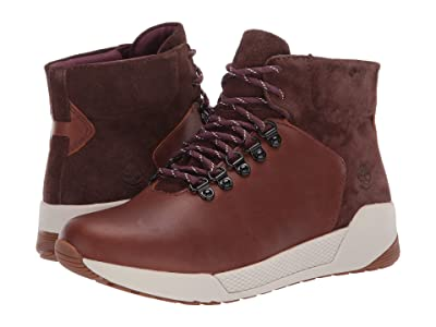 Timberland Kiri Up Waterproof Mid Hiker (Medium Brown Full Grain) Women
