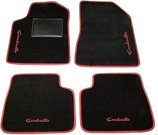 Tappetini auto in Gomma su misura Tappeti Set 4 PZ Alfa Romeo Giulietta 2010/>