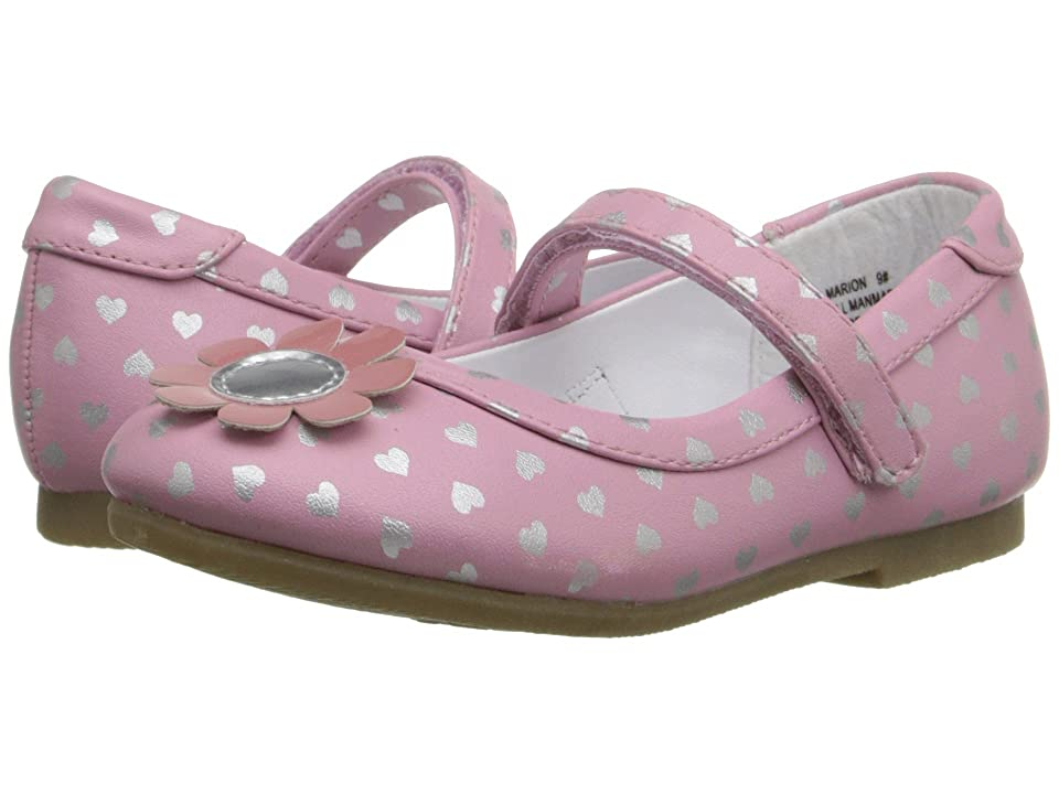W6YZ Marion (Toddler/Little Kid) (Pink/Silver) Girls Shoes