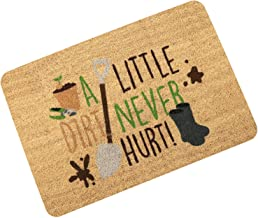 Front-Door-Mats Funny Non-Slip Doormats-Floor-Mat of A Litter Dirt Never Hurt