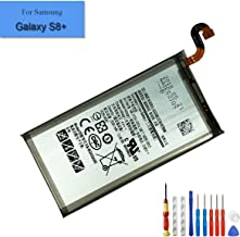 E-YIIVIIL Replacement Battery Compatible with Samsang Galaxy S8+ S8 Plus EB-BG955ABE SM-G9550 SM-G955D SM-G955F SM-G955J SM-G955N SM-G955U Internal Battery + Tools