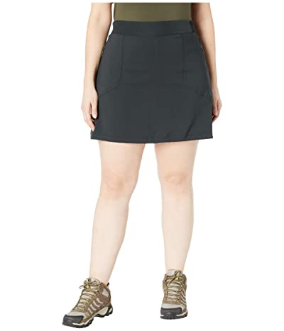 Columbia Plus Size Bryce Canyontm Skort (Black) Women
