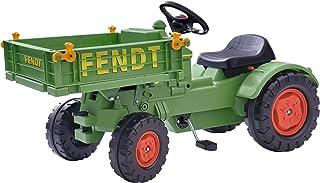 BIG - Fendt Geräteträger - Kindertraktor, Spielfahrzeug mit Präzisionskettenantrieb, 3-fach verstellbarer Sitz, bis 50 kg, Fendt Lizenz, für Kinder ab 3 Jahren