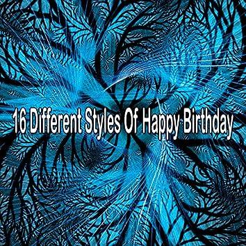 16 Different Styles Of Happy Birthday
