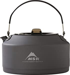 MSR Pika Ultralight Aluminum Teapot for Camping and Backpacking (1-Liter)