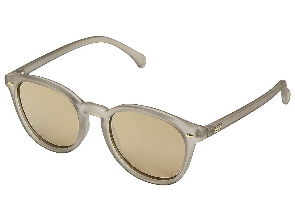 Le Specs Bandwagon (Matte Stone/Copper Revo Mirror) Fashion Sunglasses