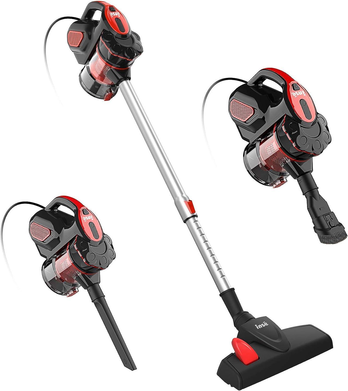 INSE Vacuum Cleaner Corded お買い得品 18KPA Stick Powerfu I5 人気激安