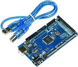 Makeronics MEGA 2560 R3 Board ATMEGA16U2 Microcontroller Board Development Board Compatible to Arduino With USB Cable