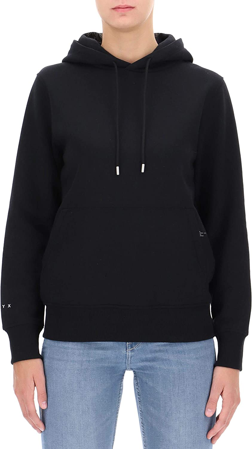 ALYX Women's AVWSW0003A001 Black Cotton Sweatshirt