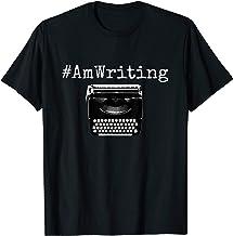 #AmWriting - Typewriter Writing T-Shirt - Writers & Authors