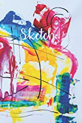 Sketch | Multicolored Abstract: Sketchbook (Paperback) Paperback