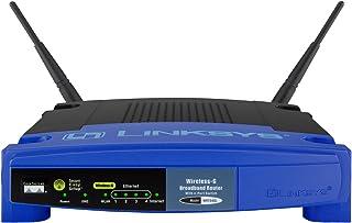 Linksys WRT54GL-EU - Router Wi-Fi Wireless-G (2 Antenas externas, 4 Puertos Fast Ethernet, 2,4 GHz, 54 Mbps), Azul