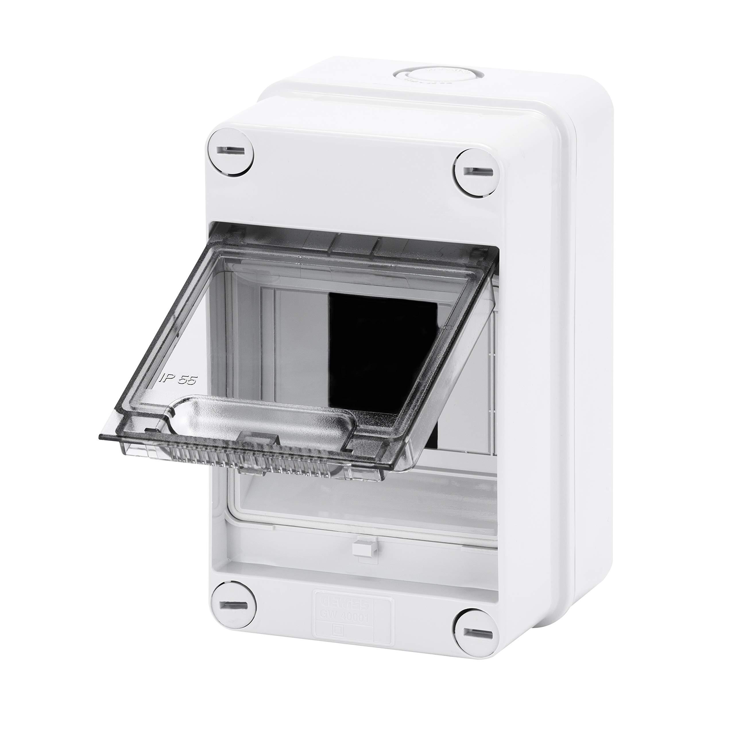 Gewiss GW40001 caja eléctrica - Caja para cuadro eléctrico (105 mm, 98 mm, 170 mm): Amazon.es: Bricolaje y herramientas