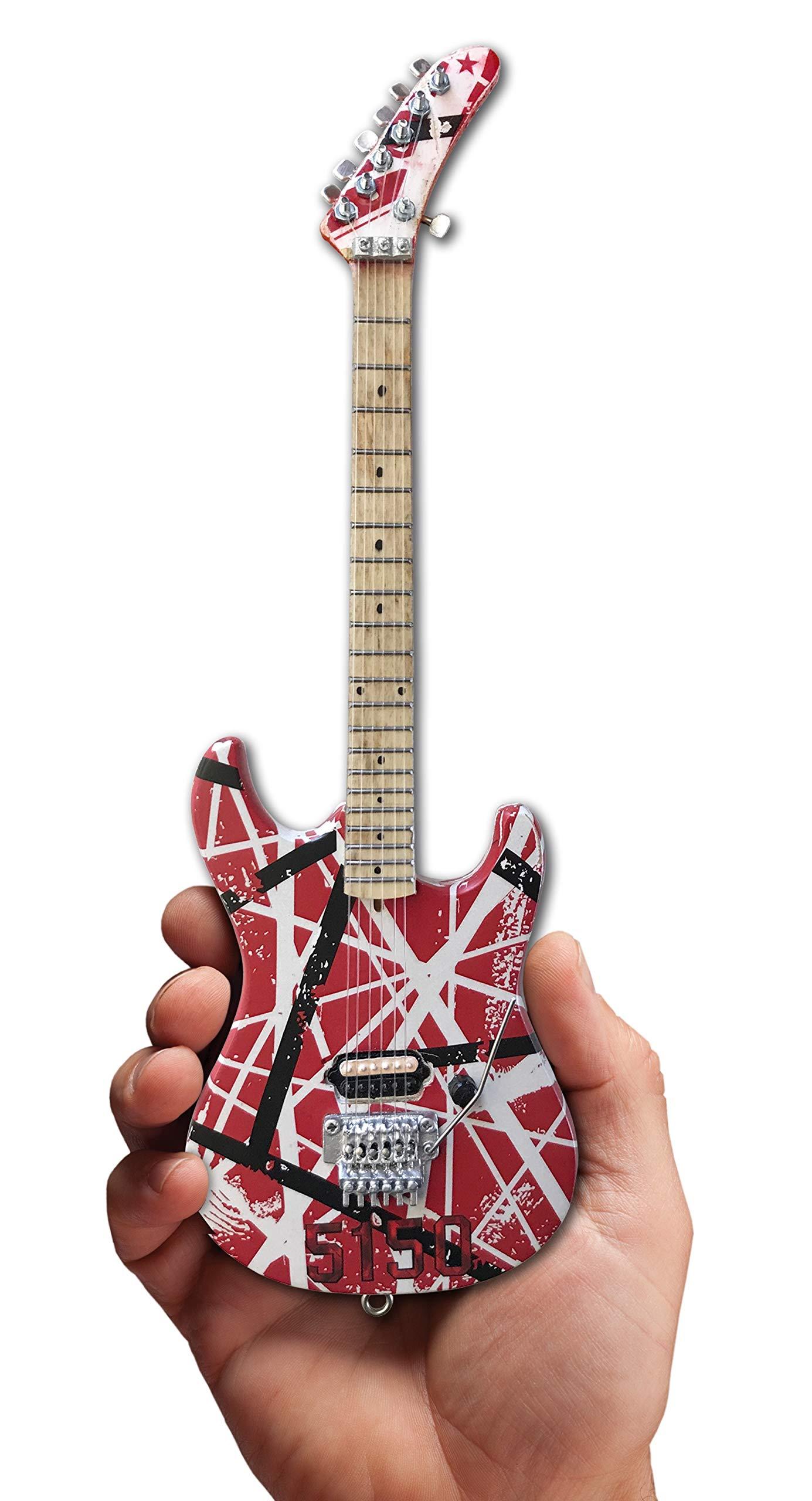 FanMerch Guitar EVH 5150 Eddie Van Halen - Réplica de Guitarra ...
