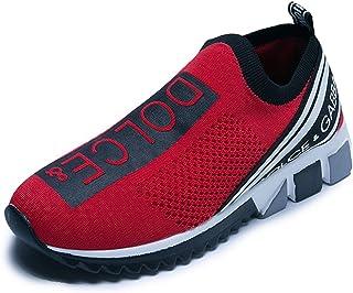 N-B Scarpe da Uomo di Lusso Designer Scarpe Casual Antiscivolo Traspiranti Scarpe Sportive da Uomo Scarpe da Passeggio Uni...