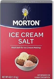 Morton Ice Cream/Rock Salt, 4-Pound (Pack of 8)