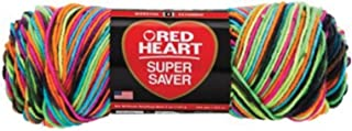 Red Heart Super Saver Yarn-Blacklight