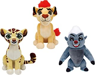 Ty Lion Guard Beanie Babies Plush - 3 Piece Set (Kion, Fuli & Bunga!)