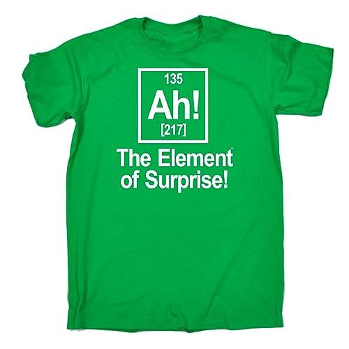 2d8d7ae4d 123t Men's - AH ELEMENT OF SURPRISE - Loose Fit T-shirt