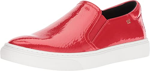 Kenneth Cole New York Wohommes Mara Slip On paniers, paniers, paniers, rouge Patent, 7.5 M US 65f