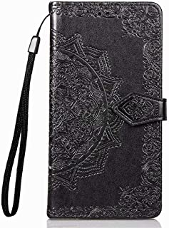 Wuzixi Case for Oppo A12s. Anti-Scratch, Flip Case Side suction Kickstand Feature Card Slots Case, PU Leather Folio Cover ...