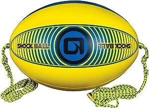 O'Brien Shock Ball Towable Tube Rope Float, Yellow