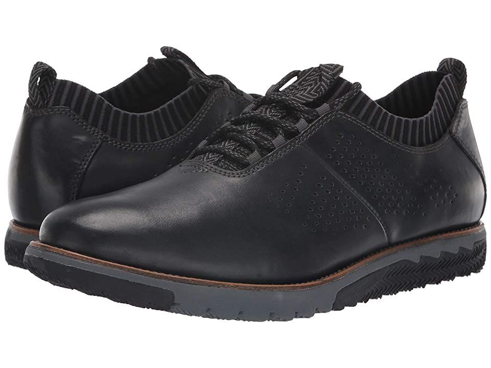 Hush Puppies Expert Knit Oxford (Black Leather) Men
