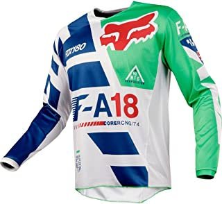 fed3acf85 Fox Racing 180 Sayak Men s Off-Road Motorcycle Jersey - Green Large