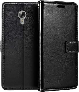 Acer Liquid Z6 Plus plånboksfodral, premium PU-läder magnetiskt flippfodral med korthållare och ställ för Acer Liquid Z6 Plus