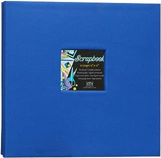 KVD Kleer-Vu Deluxe Albums Inc. Scrapbook Fabric Collection, Holds 20 12