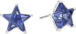 Betsey Johnson - Blue and Silver Star Stud Earrings