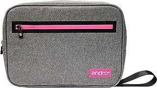 andro(アンドロ) 卓球 ラケットケース アンドロ SQケース II グレー×ピンク サイズ/31x22x5.5cm 412059