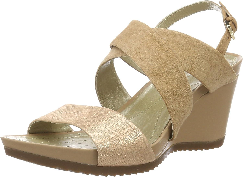Geox Women's D New Rorie A Heeled Sandal