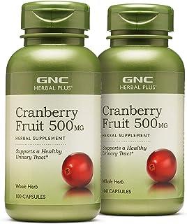 GNC Herbal Plus GNC Herbal Plus Cranberry Fruit 500MG - Twin Pack