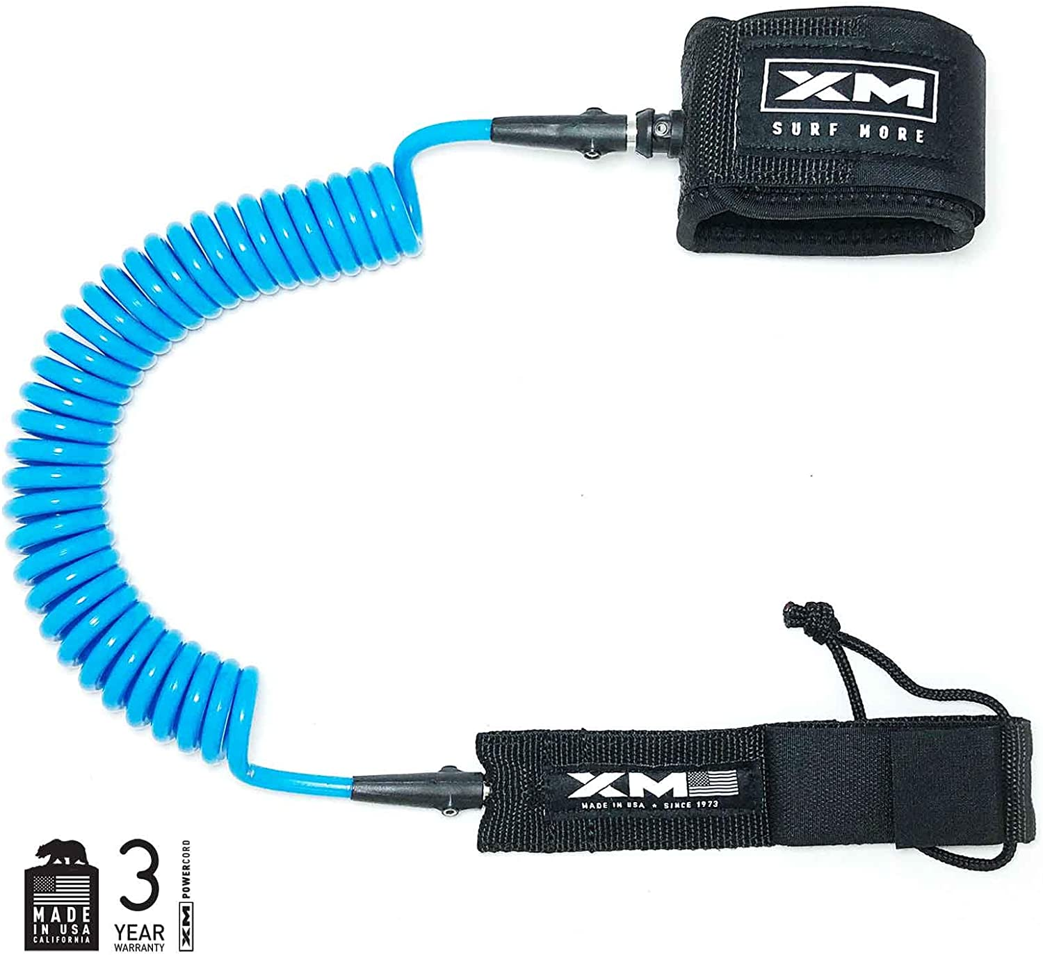Genuine Free Shipping price XM Stand-UP Paddle SUP Leash Coil Big Wave .313in Made