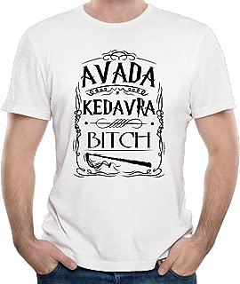 Men's Avada Kedavra Bitch - Funny Wizard Vintage Premium38 Short Sleeve T Shirt
