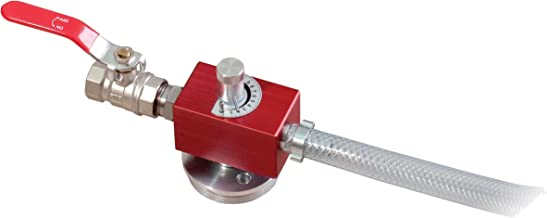 GROZ Coolant Mixer | for Metalworking Fluids | Capacity of 290 Gallons per Hour | 0 to 11% Mixing Ratio | Lightweight Aluminum Body (61100)