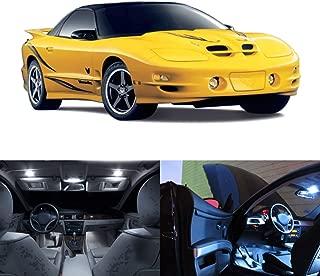 LED White Lights Interior Kit For Pontiac Firebird Trans Am 1998-2002 (12 pcs)