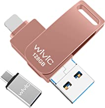 USB Flash Drive Photo Stick, WIVIC USB 3.0 Memory Stick for Photos, 128GB Photostick Thumb Drive...