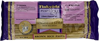 Tinkyada Brown Rice Pasta, Spaghetti, 1 Pound (Pack of 12)